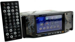 Boss BV8210 4 5 Touchscreen in Dash DVD CD iPod Car Audio Player USB