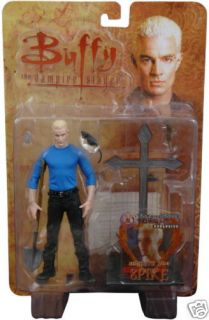 Buffy 6 Spike Beneath You Exclusive Action Figure New
