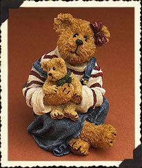 Boyds Bearstone Megan Mcbruin Friend Bear Hugs
