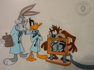 Bugs Bunny Daffy Duck Taz Dynamite Diagnosis Warner Brothers Cell