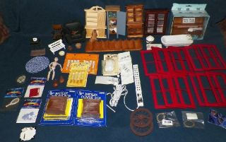 Dollhouse Miniature Furniture, Electrical, Building Supplies