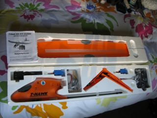 hawk R C plane Remote controlled airplane complete with Hobbico