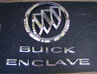 Buick Enclave Lift Gate Emblems