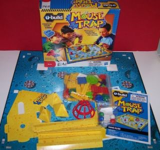 Hasbro U Build Mouse Trap Game Build The Board Chase Down The Cheese