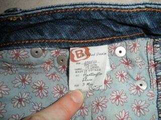 Bullhead Womens Huntington Flare Jeans Size 3 Regular 27 x 31 Low Rise