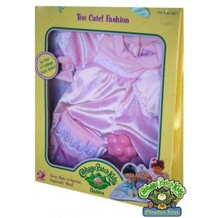 Cabbage Patch Kids Babies Too Cute Fashion Light Pink Outfit