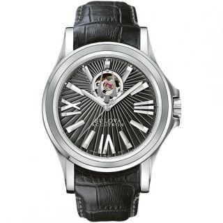 men s bulova accutron kirkwood automatic watch model 63a101 swiss made