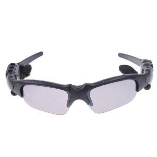 Glass black Sunglasses Sun Glasses Bluetooth Headset headphone