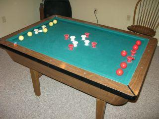 "American ""Classic"" Bumper Pool Table"