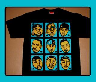 Cajmear Wu Tang Clan Brady Bunch shirt wear wutang supreme rza raekwon