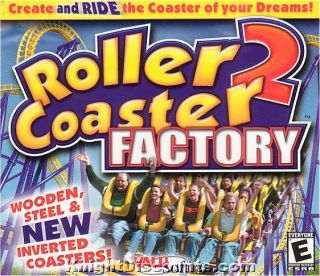 Roller Coaster Factory 2 Simulation PC Game New Win95 X