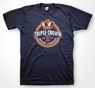 Miguel Cabrera Triple Crown Winner T Shirt