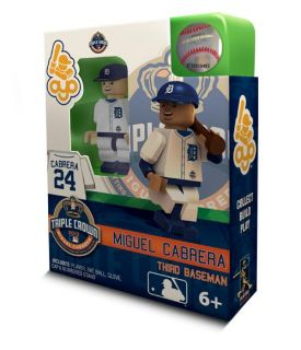Miguel Cabrera Triple Crown Oyo Mini Figure Lego Compatible Detroit
