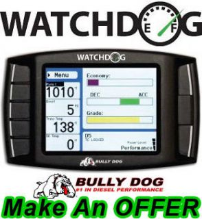 Bully Dog WatchDog Gauge Display Economy Monitor Black OBD II 1996 up