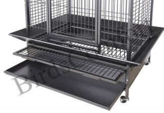 HQ Cages 93628 Parrot Bird Cage 70x36x28 Toy Toys Macaw Cockatoo