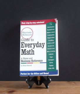 Websters Guide to Everyday Math Home Business Reference Brain Burrell