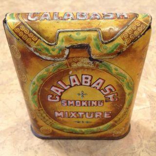 Calabash Smoking Mixture Pocket Tobacco Tin