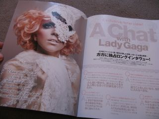 Love Lady Gaga Gossips Japan Magazine Calendar 2011 Paparazzi