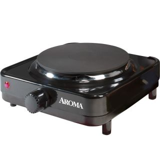 Electric Portable Cooktop Range Freestanding Single Burner Stove Cook