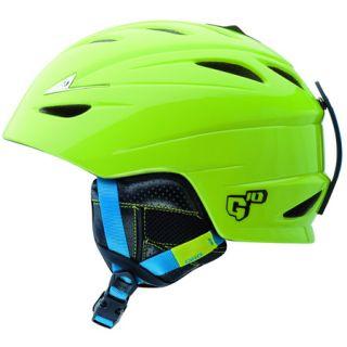 Giro G10 Mens Ski / Snowboard Helmet Green Tiles 2020652 NEW