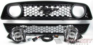 GT Style LED Fog Light Conversion Kit Fits V6 Cali Special