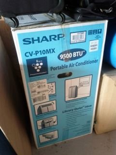 used but works great SHARP CVP10MX 9 500 BTU Portable Air Conditioner