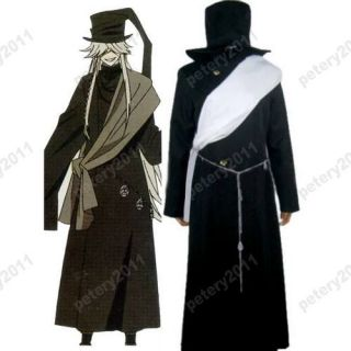 Fast Shipping Kuroshitsuji Black Butler Undertaker Cosplay Costume All