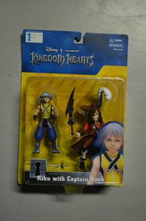 Kingdom Hearts Series 1 Riku and Captain Hook Action Figure