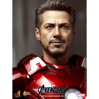 Avengers Iron man Mark VII Mark 7 Robert Downey Tony Stark 1/6 Figure