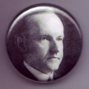 President Calvin Coolidge 1 inch Pinback Button Badge
