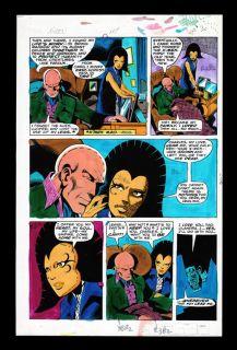 John Byrne x Men 117 Original Color Art Page 17 RARE