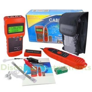 this tester is a multipurpose network cable length tester with 3 major