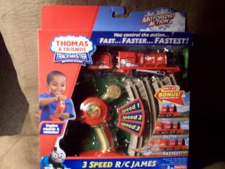 Friends TRACKMASTER REMOTE CONTROL MOTORIZED TRAIN   3 SPEED R/C JAMES