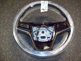 2013 Cadillac ATS Black Leather Heated Steering Wheel 22876365