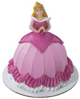 Sleeping Beauty Aurora Cake Decoration Supplies Topper Cupcake Kit Set