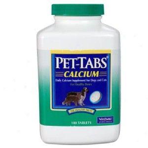Pet Tabs Calcium 180 ct Dogs & Cats Healthy bones Pregnant lactating