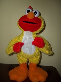 Sesame Street Chicken Dance Elmo Animated Singing Dancing 2001 Working