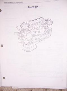 1990 White GMC Truck Service Manual TD 123 ea EB EC U
