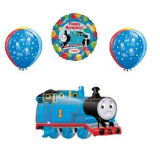 thomas the train birthday party supplies 8 balloons