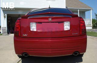 08 10 Cadillac cts 4DR Sedan Rear Trunk Tail Wing Spoiler Primer