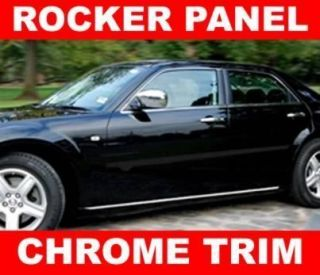 Cadillac CTS STS Deville XLR Chrome ROCKER PANEL TRIM MOLDING
