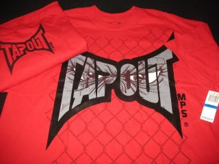 Tapout MPS UFC MMA Cage Fighting Shirt Mens Size XL