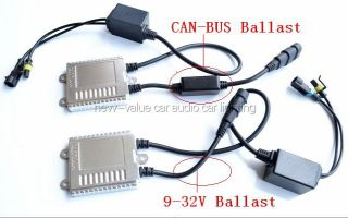 Can Bus H7 4300K Germany Asic Chip Slim Hylux Xenon HID Conversion Kit