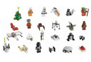 Lego 7958 Star Wars Advent Calendar 2011 with Exclusive Santa Yoda