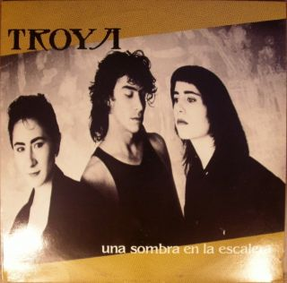 LP Latin Troya Una Sombra En La Escalera 1988 Ariola Records Listen