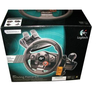 Logitech Driving Force GT Gaming Steering Wheel PS2 PS3