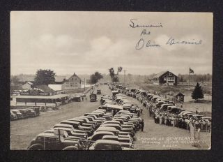 Oliva Booth Dionne Quintuplets Many Old Cars Callander On
