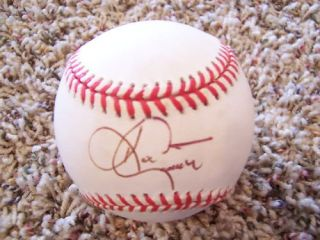 Ken Caminiti Signed 1998 World Series Baseball JSA Authentication