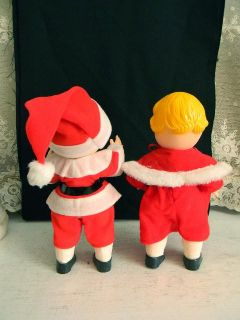 Santa Claus Mrs Claus Campbell Soup Kids Dolls Collectors
