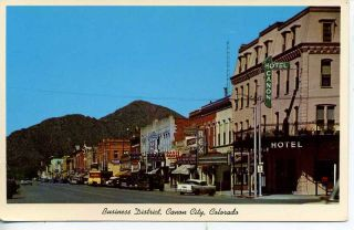 1950s Cars Canon City Colorado Downtown Street Scene